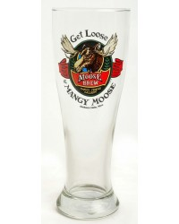 BEER PILSNER GET LOOSE AT MANGY MOOSE GLASS