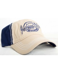 HAT JACKSON HOLE WYOMING 2 TONE CAP NAVY/BEIGE