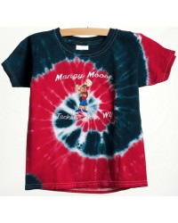 TEE SHORT SLEEVE EMBROIDERY COOL MOOSE TIE DYE