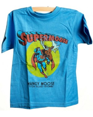 TEE SHORT SLEEVE SUPERMOOSE IRIS