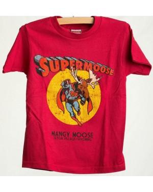 TEE SHORT SLEEVE SUPERMOOSE RED