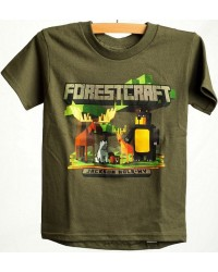 TEE SHORT SLEEVE FORESTCRAFT