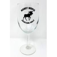 Wine Goblet Mangy  Moose