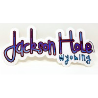 Sticker Jackson Hole Pipe Line