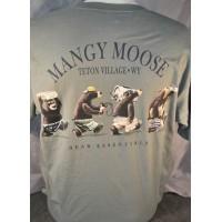 Short Sleeve T-Shirt Bear Essentials Steel Blue