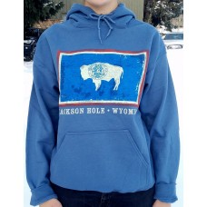 Sweatshirt WY Flag DENIM