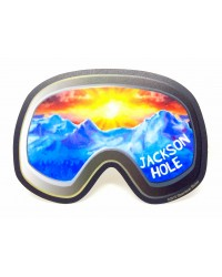 Sticker Ski Goggles