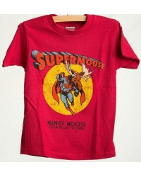 TEE SHORT SLEEVE SUPERMOOSE RED