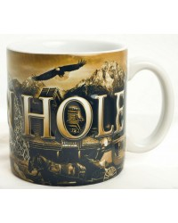 MUG SEPIA JACKSON HOLE COLLAGE 20oz
